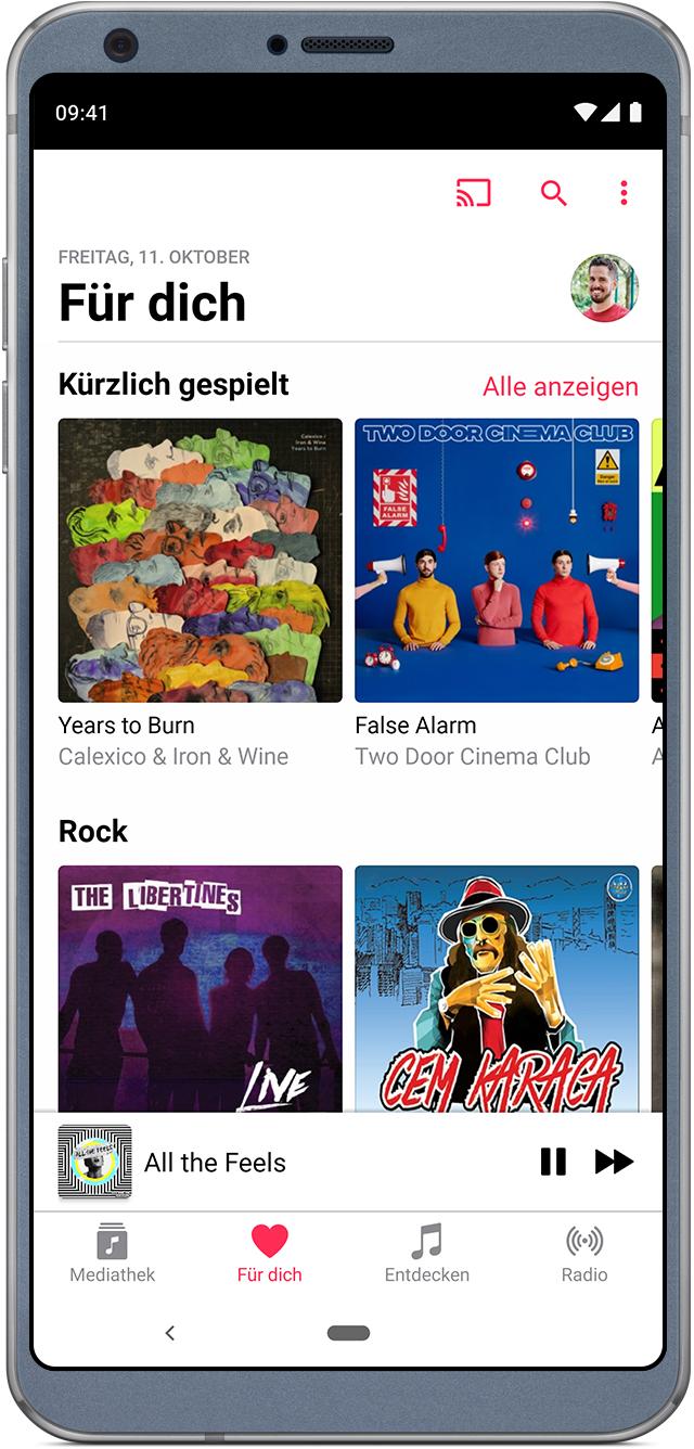 Apple Musik Auf Android