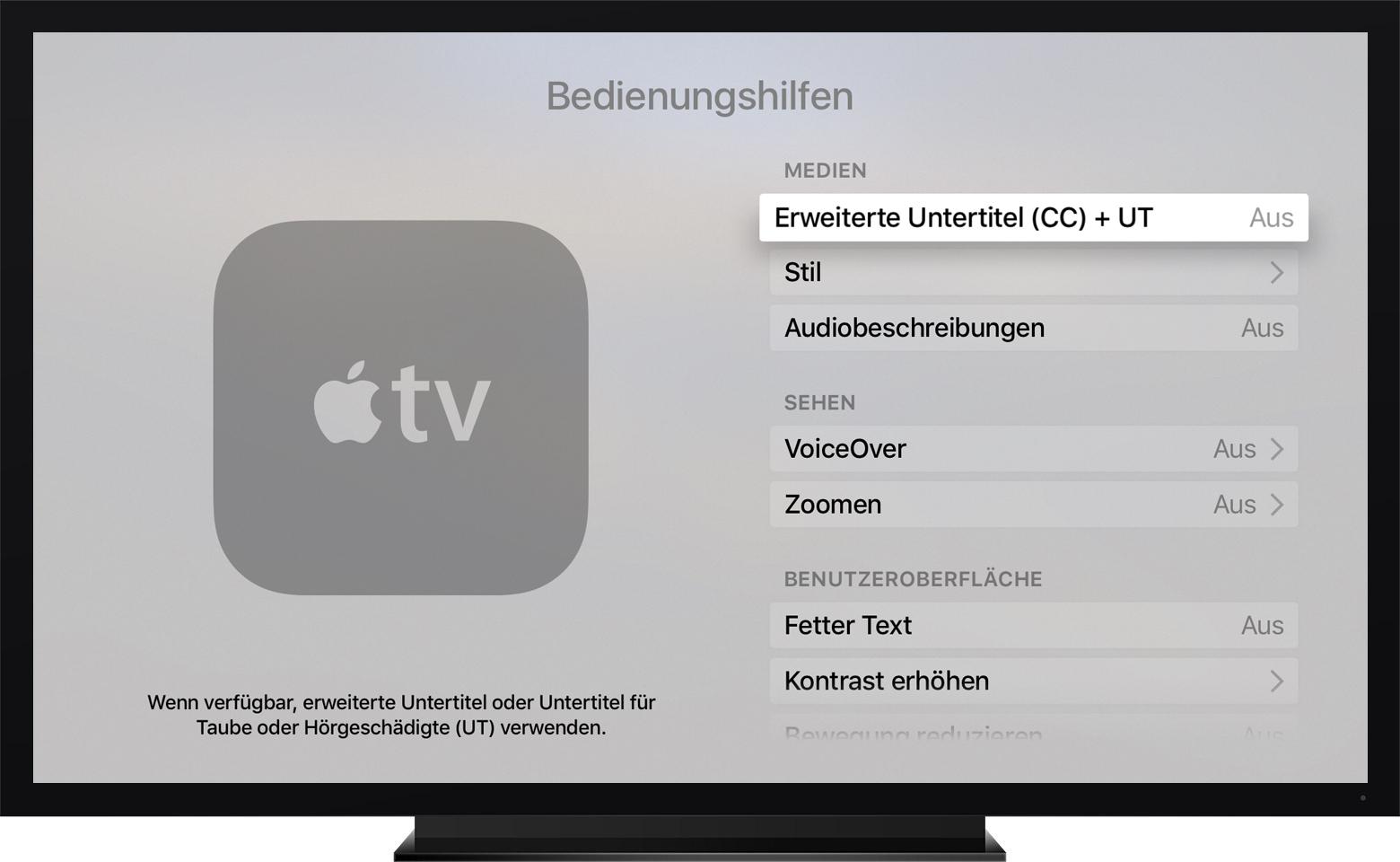 Apple Tv Untertitel