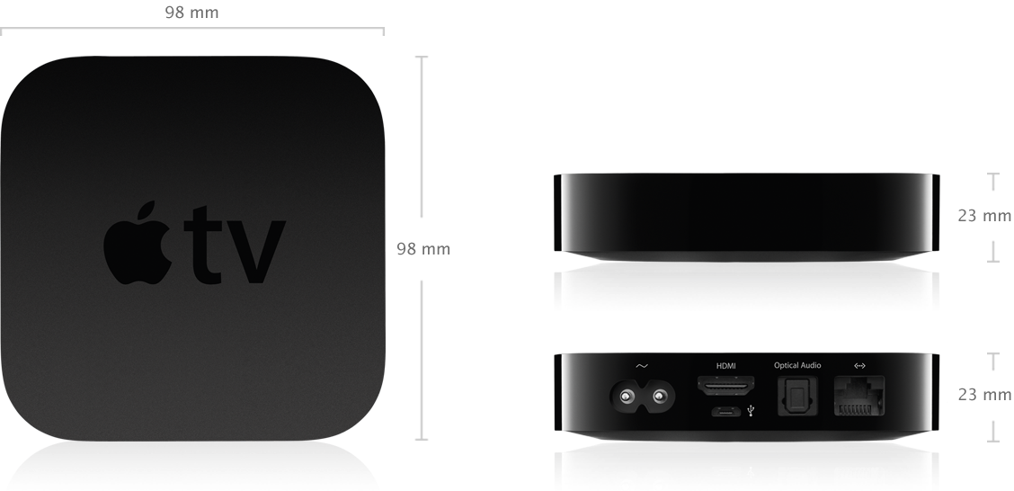 apple tv 3 generation technische daten. Black Bedroom Furniture Sets. Home Design Ideas