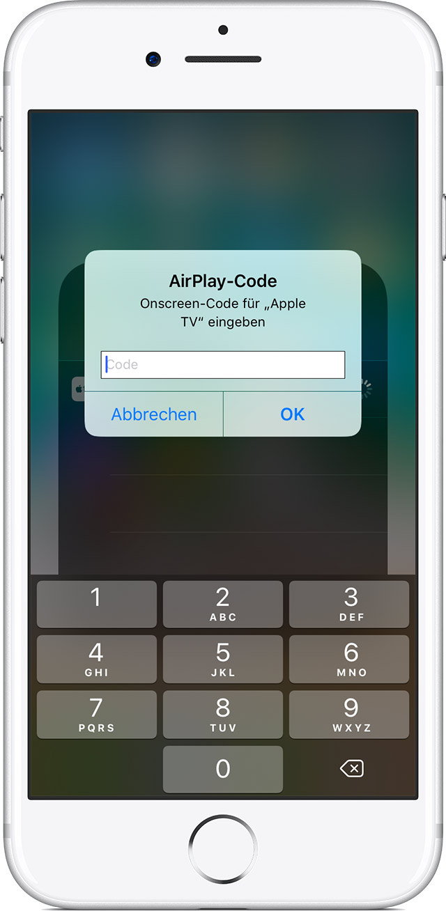 Airplay Bildschirmsynchronisation
