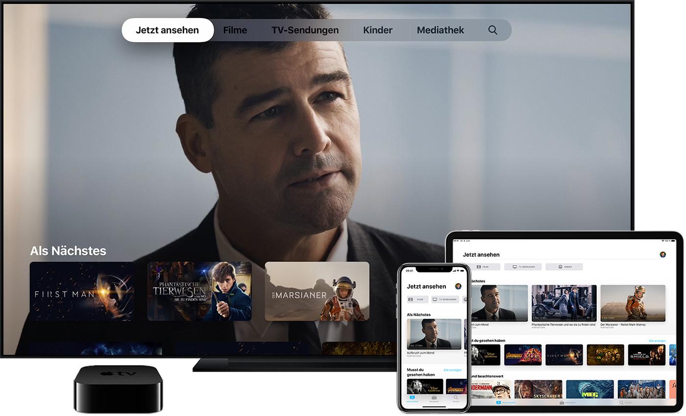 filme tv sendungen und liveinhalte in der app apple tv. Black Bedroom Furniture Sets. Home Design Ideas