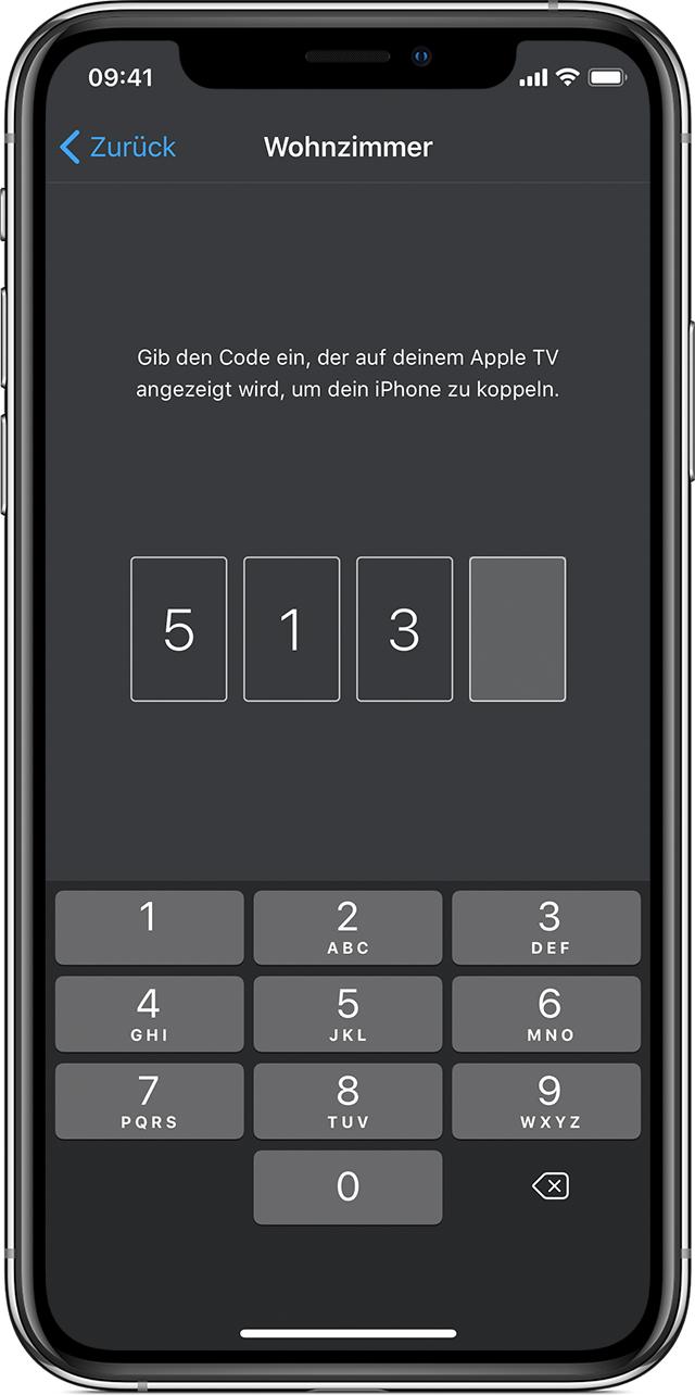 apple tv remote auf ihrem iphone ipad oder ipod touch. Black Bedroom Furniture Sets. Home Design Ideas