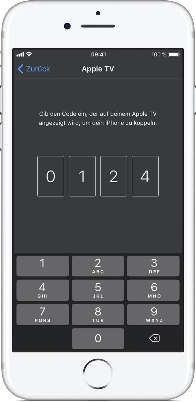 die app apple tv remote einrichten apple support. Black Bedroom Furniture Sets. Home Design Ideas