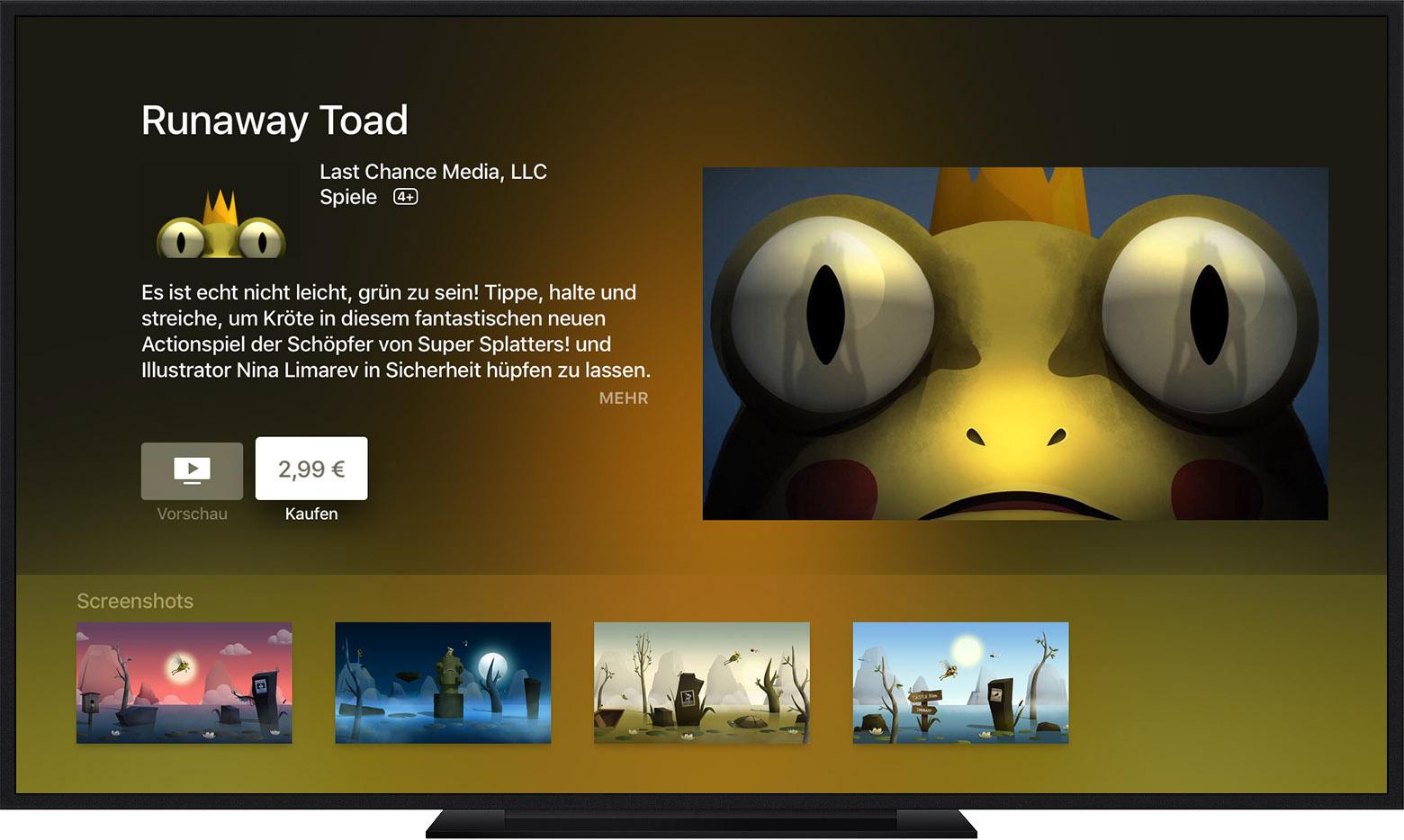 app store auf ios ger ten apple tv oder dem computer. Black Bedroom Furniture Sets. Home Design Ideas