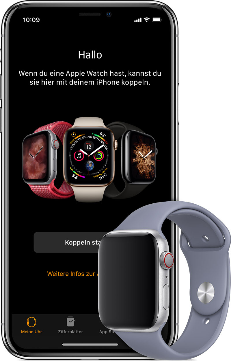 mobilfunk auf der apple watch konfigurieren apple support. Black Bedroom Furniture Sets. Home Design Ideas