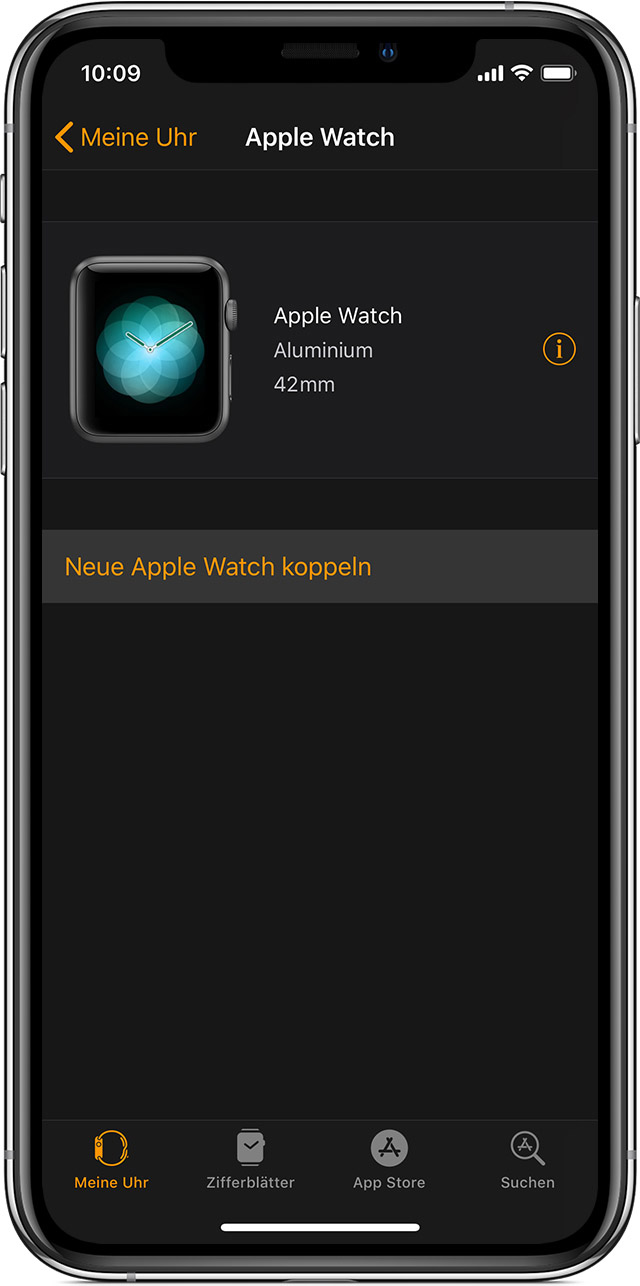 apple watch entkoppeln ohne iphone
