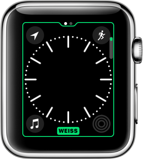 zifferblatt auf der apple watch ndern apple support. Black Bedroom Furniture Sets. Home Design Ideas