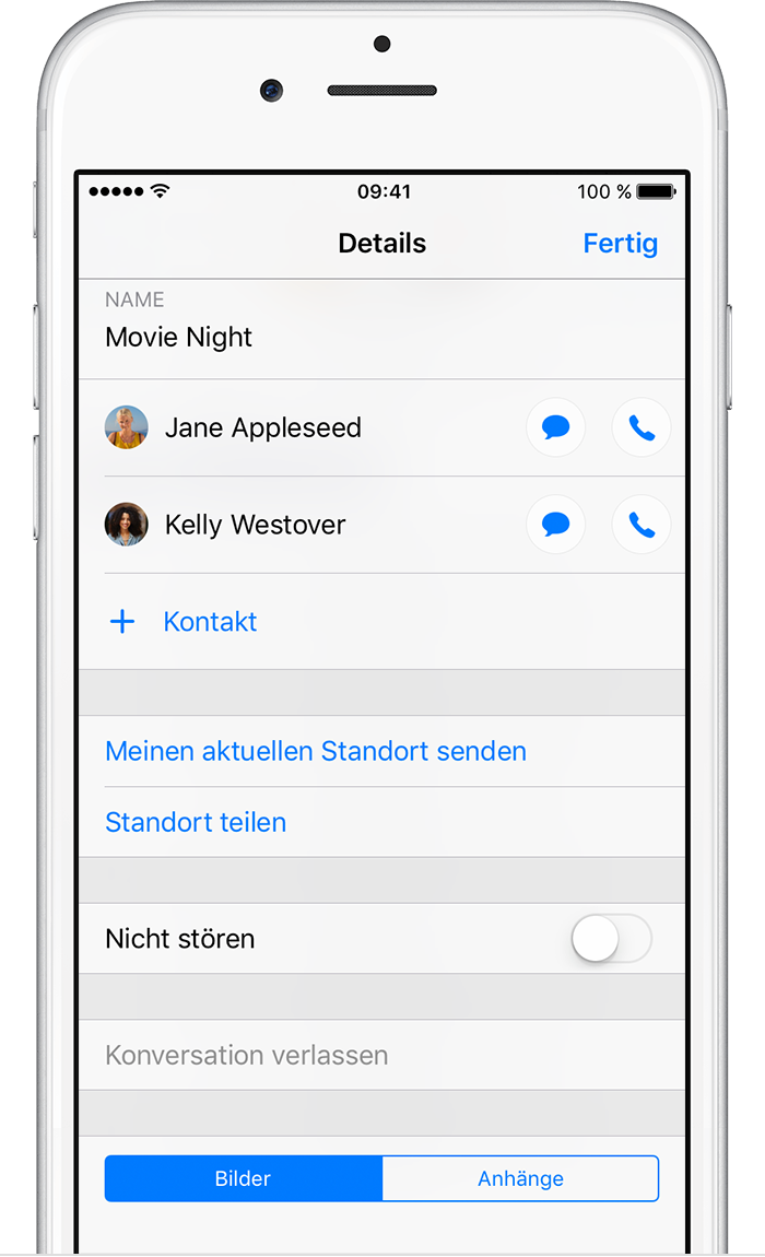 how to send group message on iphone gruppennachricht mit dem iphone oder ipod touch 20298