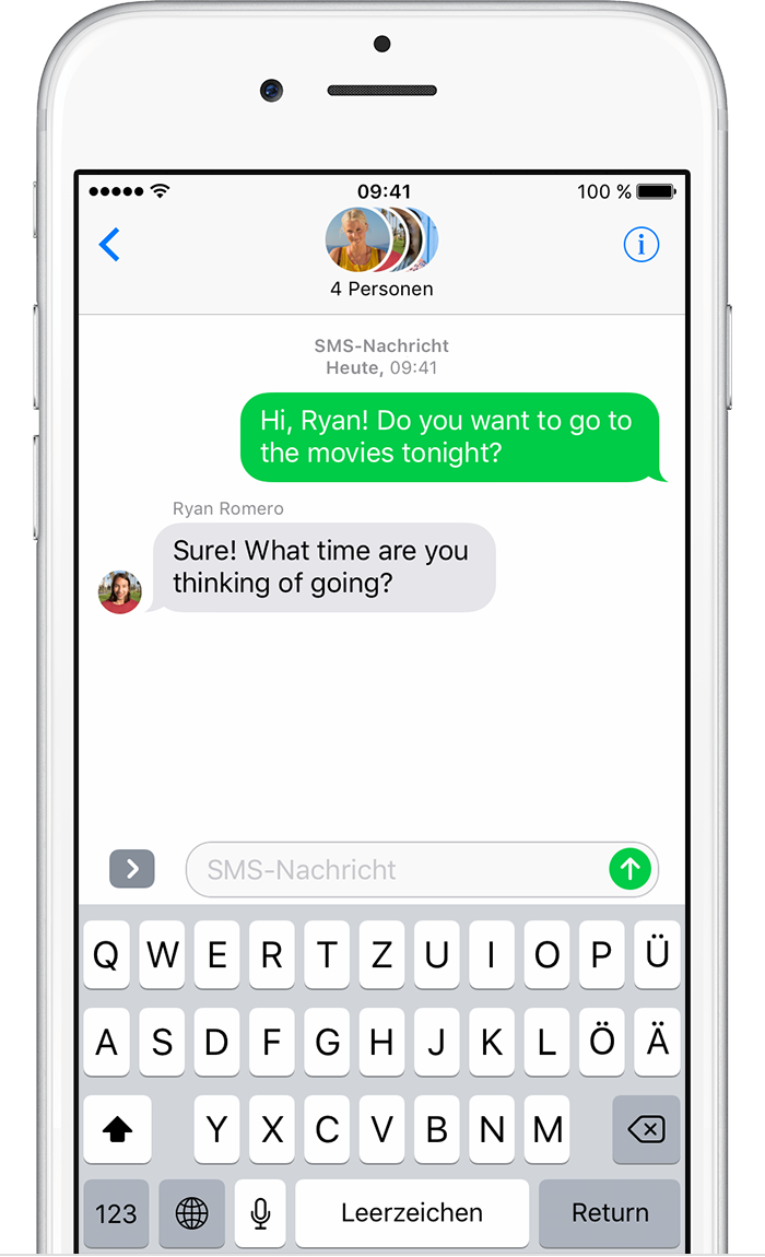 how to send sms from ipad air