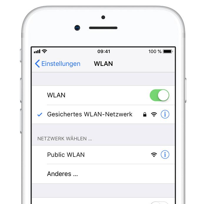 Hilfestellung Für Ihr Wlan Passwort Apple Support