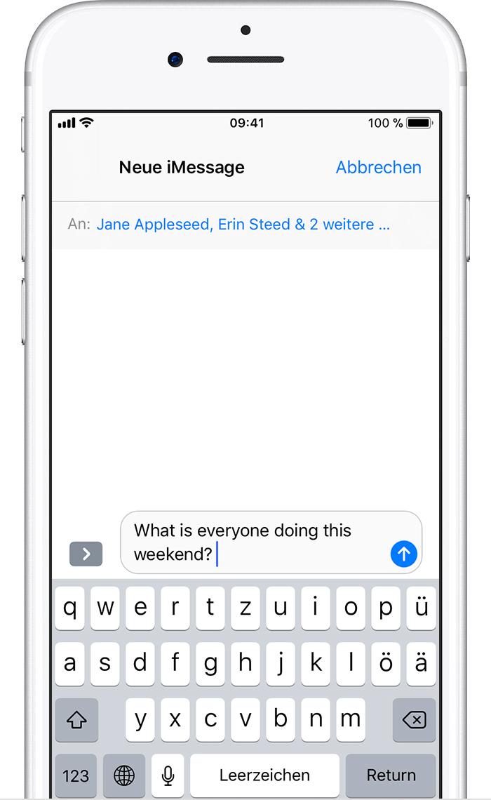 Verstecken Sie Kontakte und Nachrichten auf dem iPhone