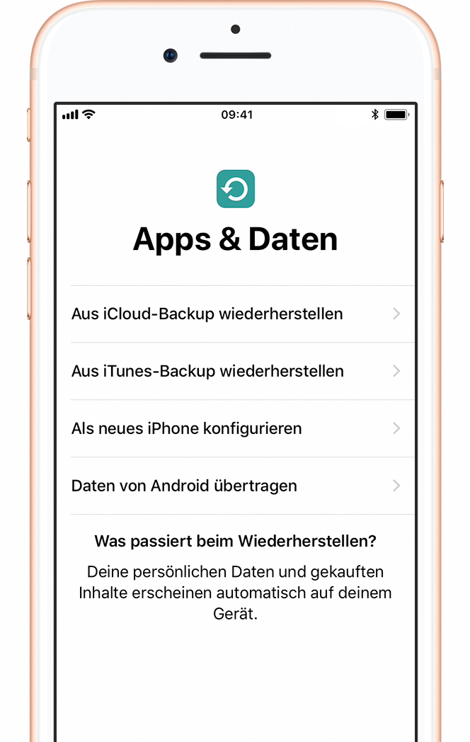 Alte apple id neues iphone