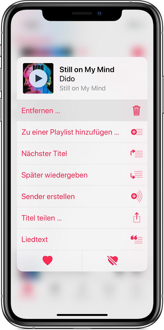 Musik Alben Vom Iphone Löschen