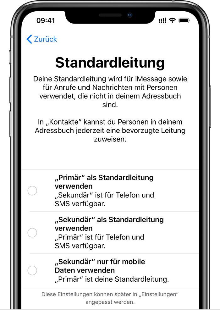Iphone 6s Sim Karte Wechseln.Dual Sim Funktion Mit Einer Esim Verwenden Apple Support