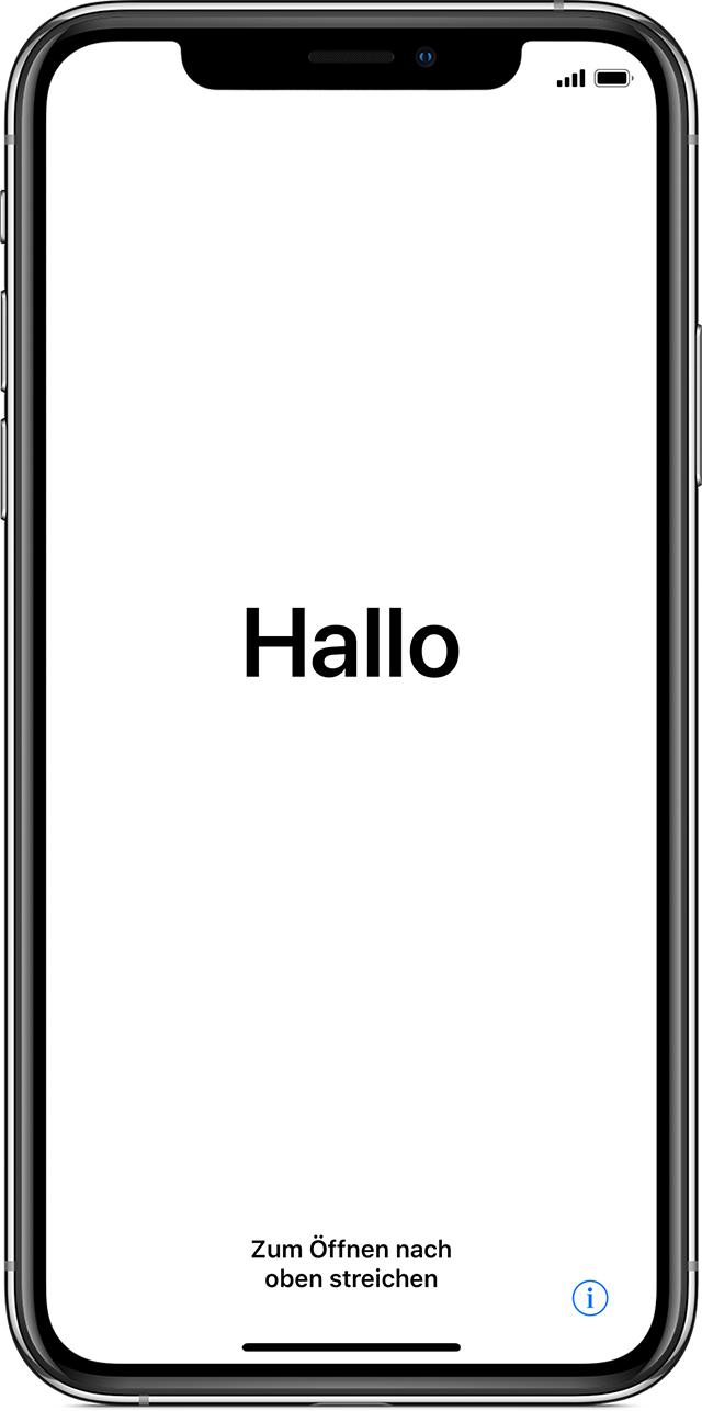 Neues Iphone Einrichten Ios 12