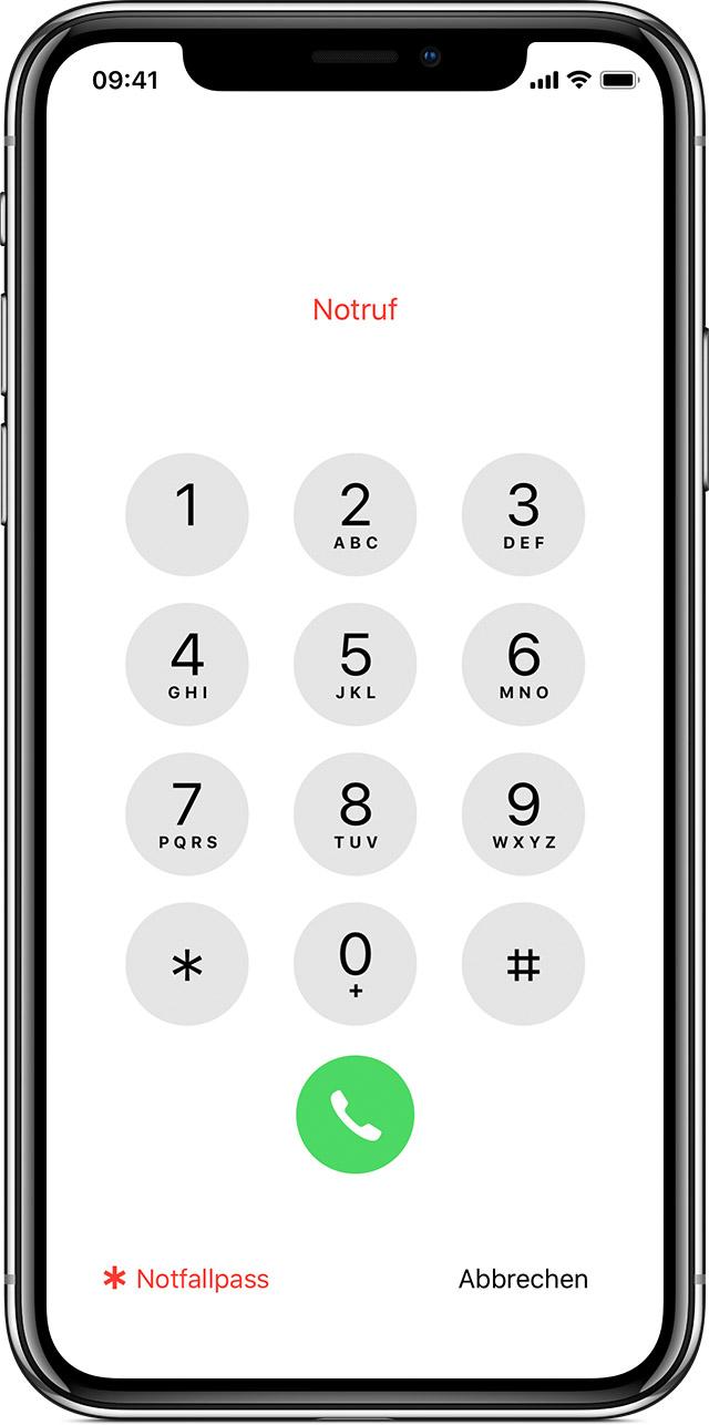 Sim Karte Gesperrt Iphone.Einen Notruf Von Einem Gesperrten Iphone Absetzen Apple
