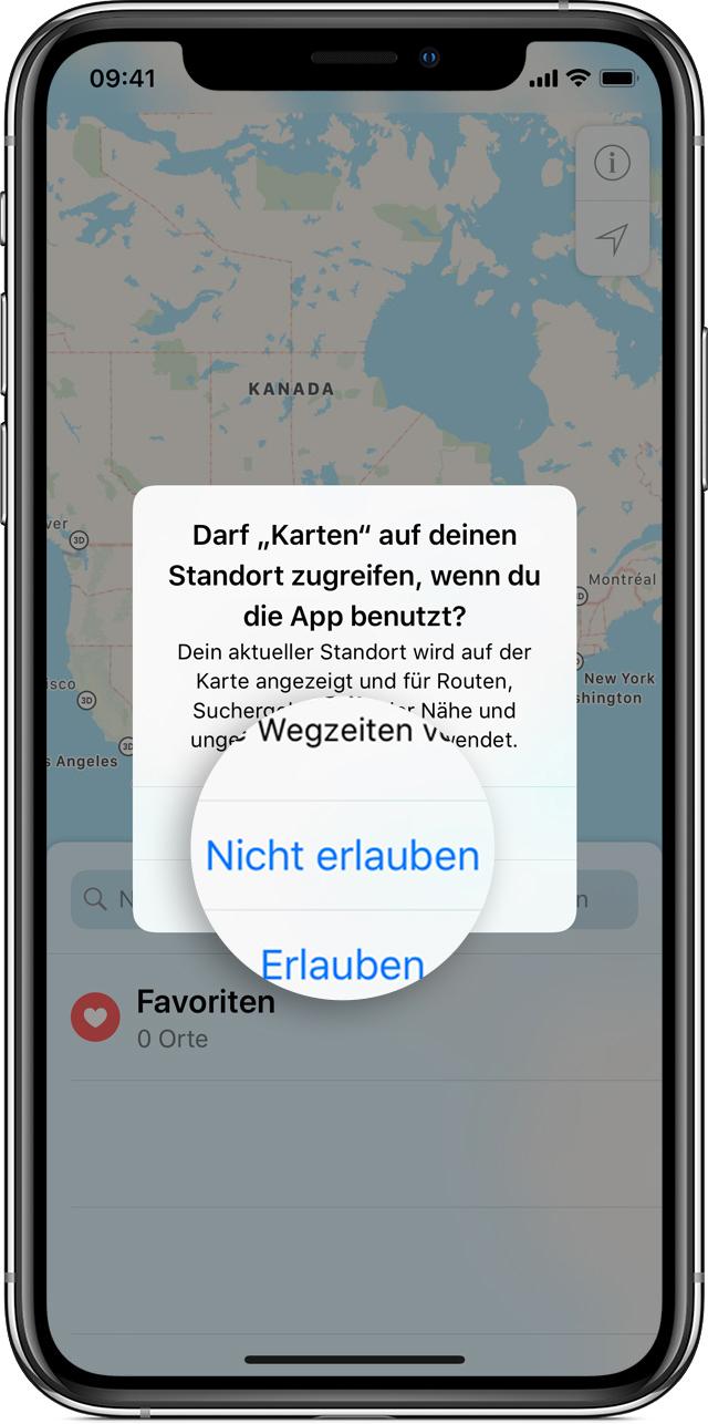 iphone 8 ortung aktivieren