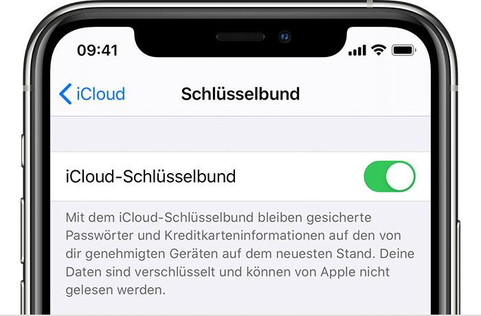 new style cd255 5862e iCloud-Schlüsselbund einrichten - Apple Support