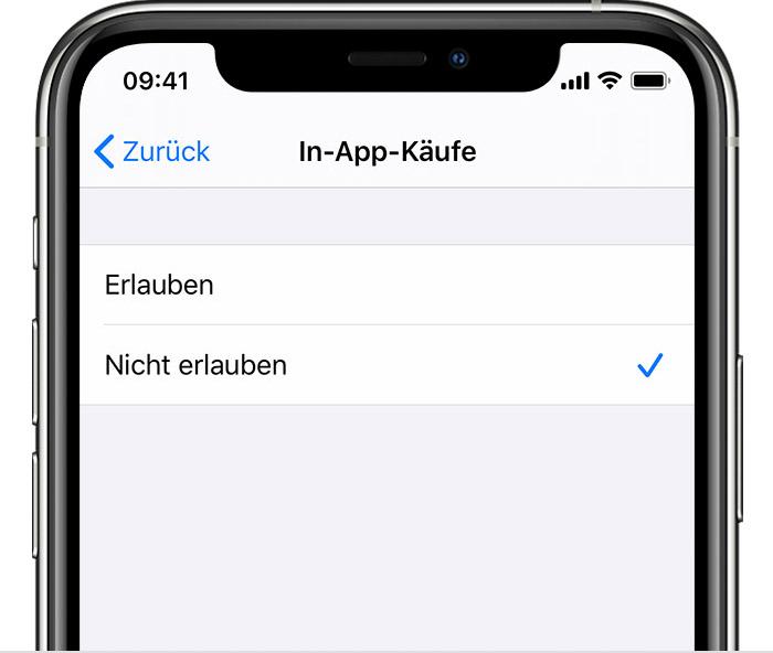 App Store In App Käufe