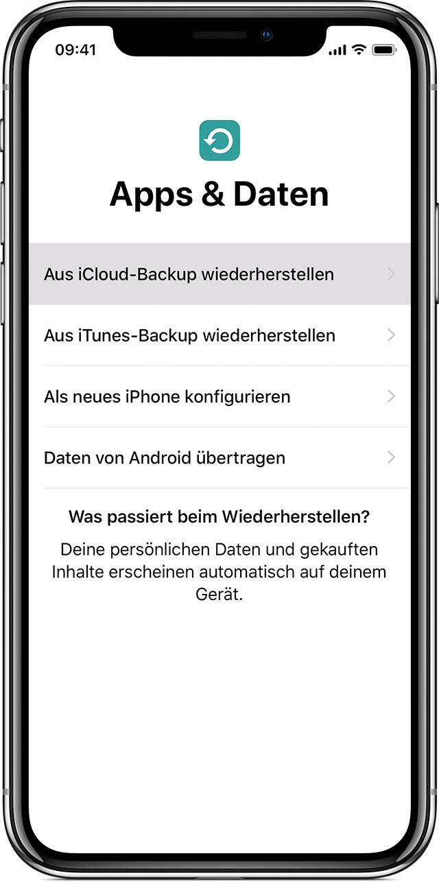 Daten Übertragen Altes Iphone Neues Iphone