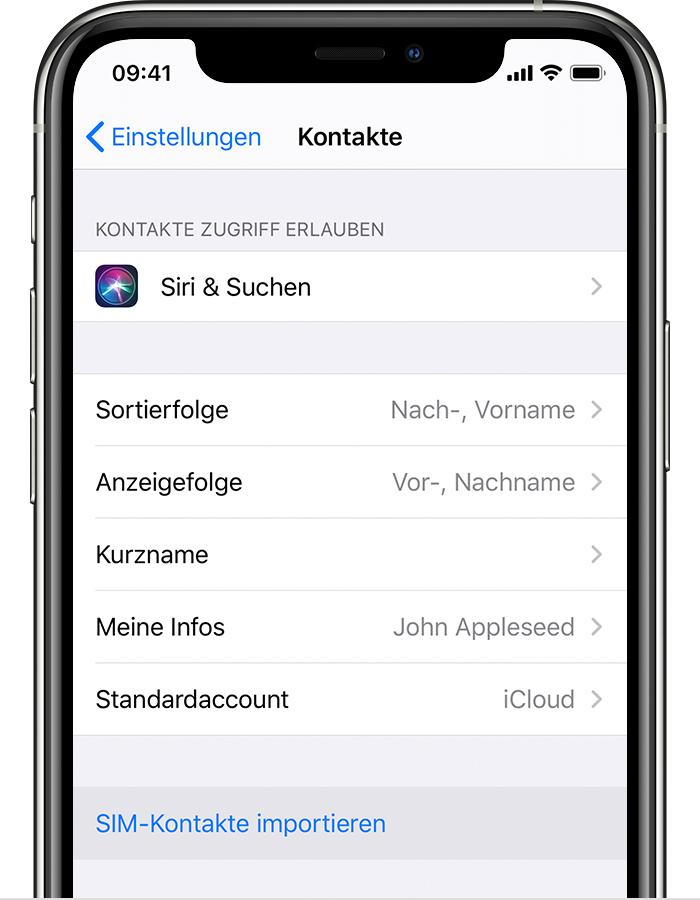 kontaktdaten auf neues handy übertragen
