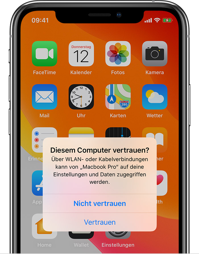 iPhone XR spinage programme ohne zustimmung
