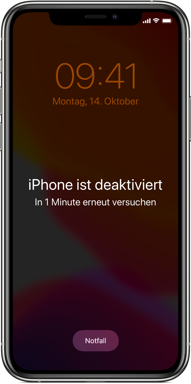 Apple id vergessen iphone wiederherstellen