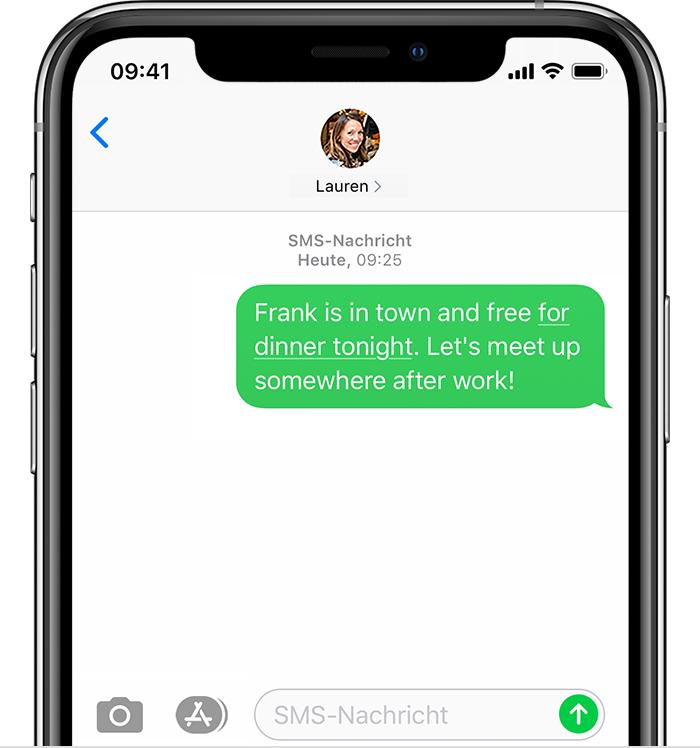 Nachricht whatsapp senden leere Leere WhatsApp