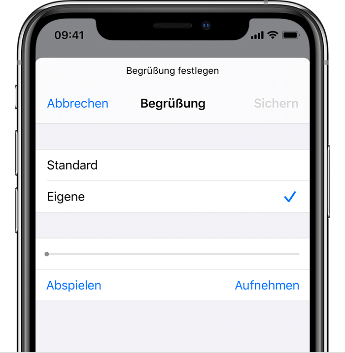 Visual Voicemail auf dem iPhone einrichten - Apple Support