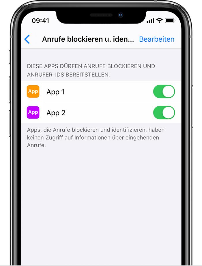 Apps Blockieren