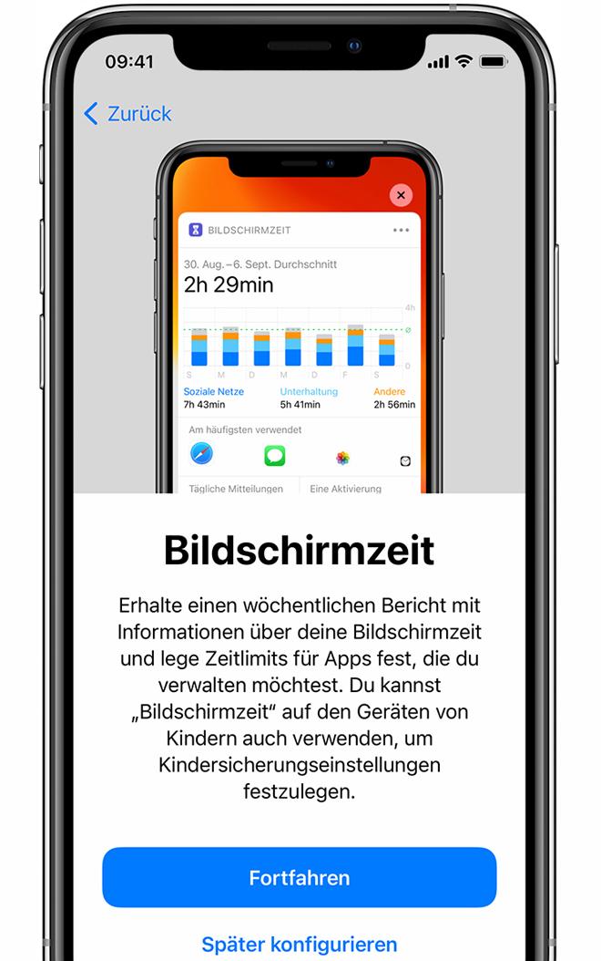 iPhone, iPad oder iPod touch einrichten - Apple Support