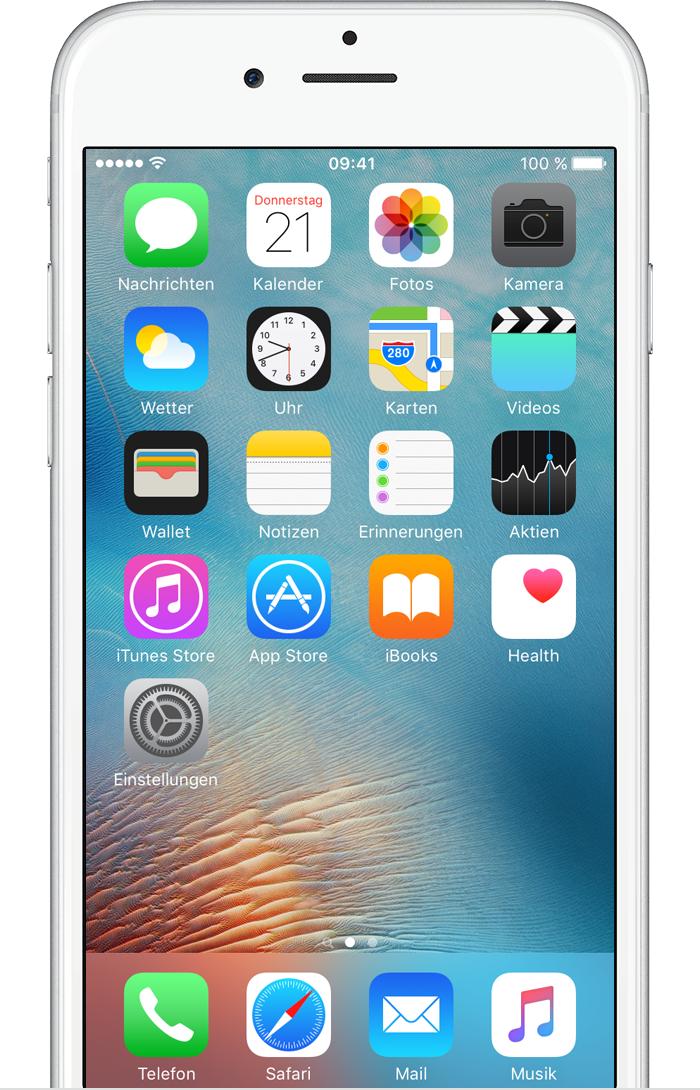 Fotos mit dem iPhone, iPad und iPod touch aufnehmen und ...