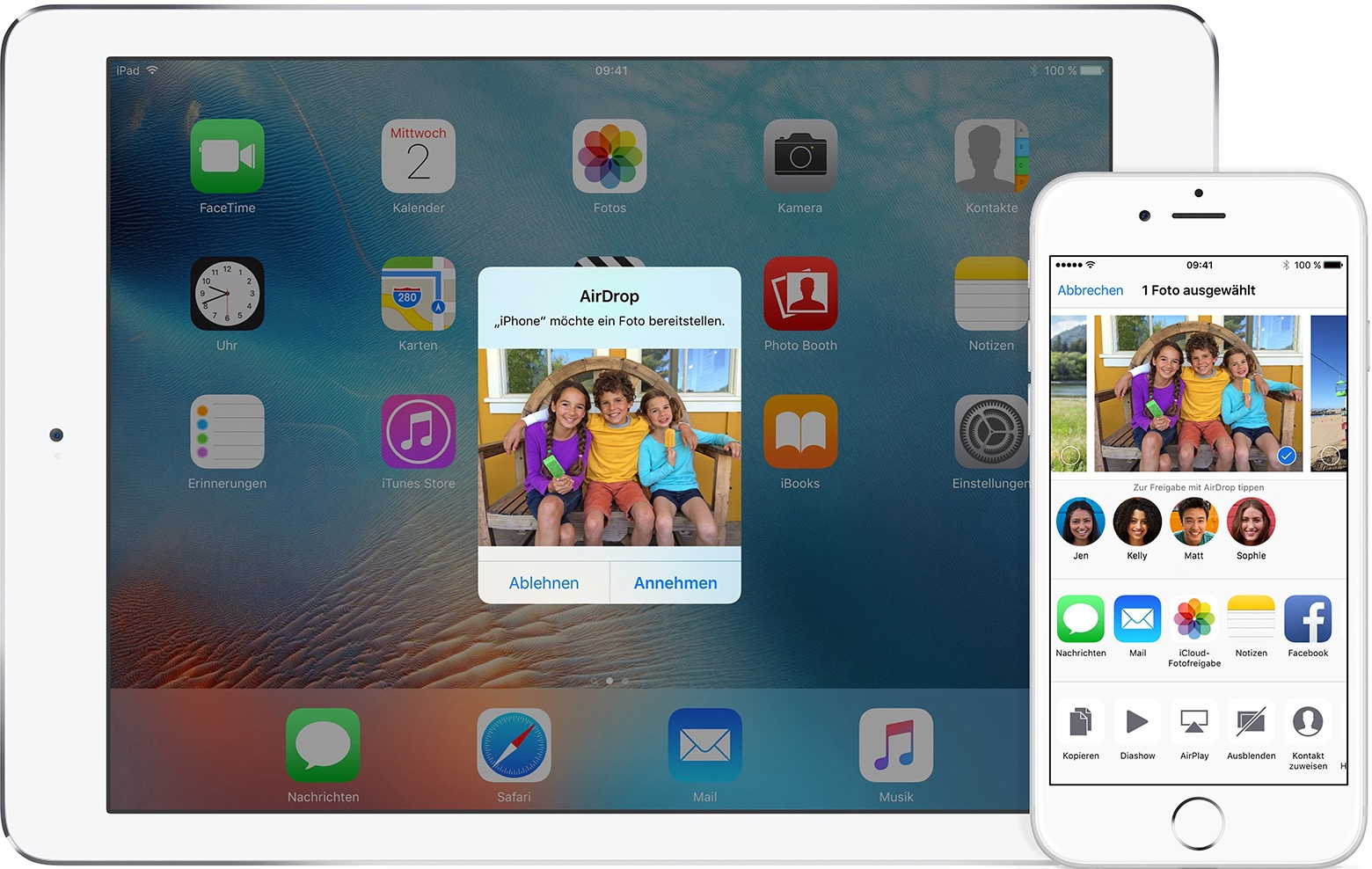 how to use airdrop iphone to macbook