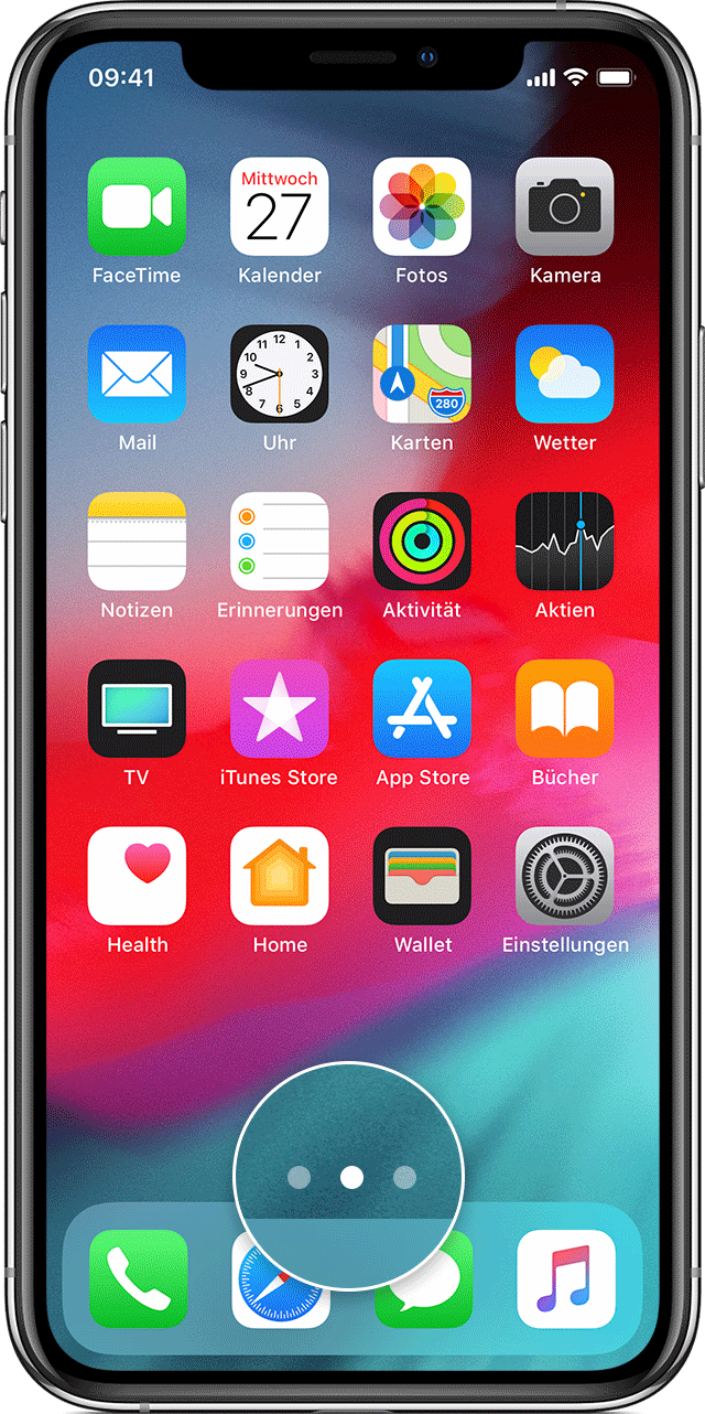 Apps auf neues iphone verschieben