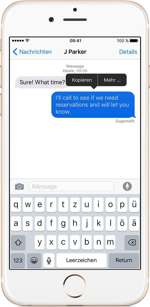 iphone mail löschen wischen