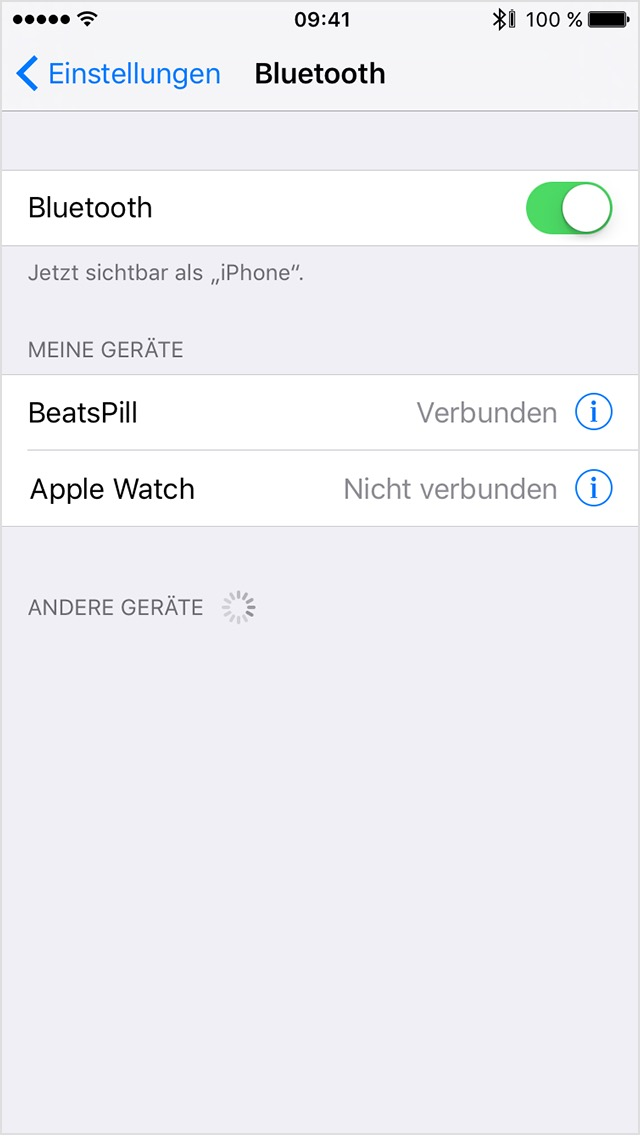 iphone not connecting to bluetooth bluetooth zubeh 246 r drittanbietern einrichten und 8762