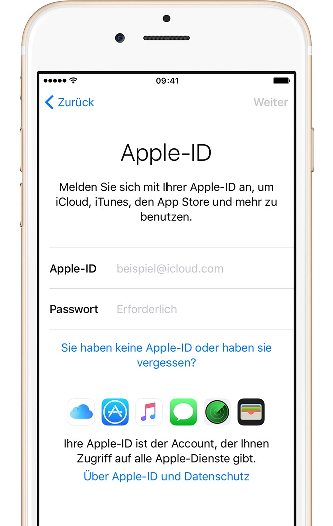 Apple kennenlernen
