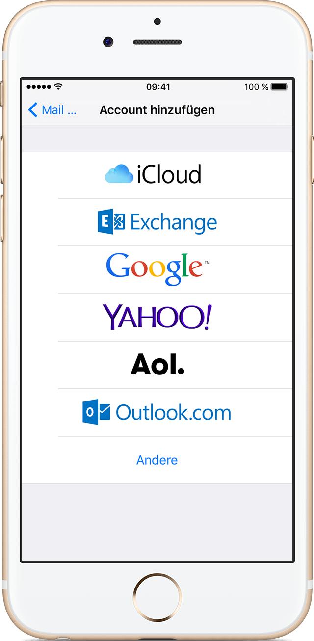 Mehr Email Iphone 6 Einrichten