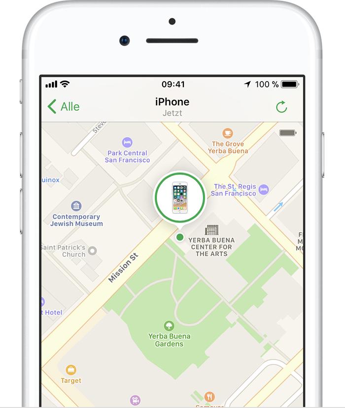 kann man iphone 8 ausgeschaltet orten