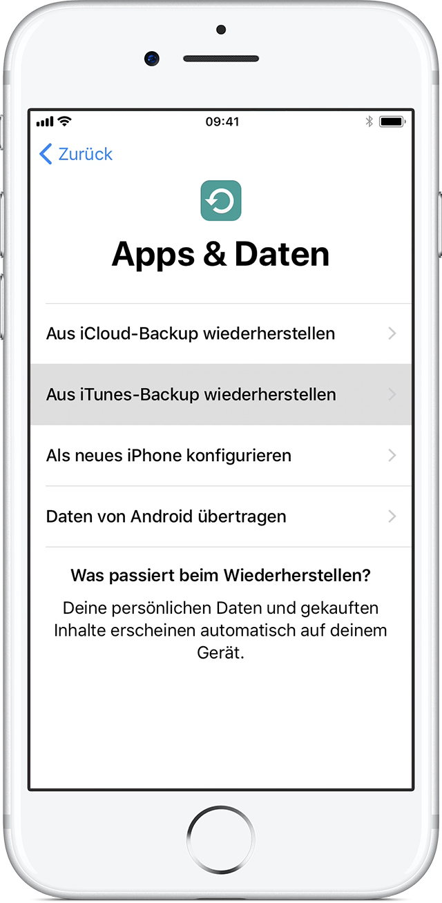 Was Ist Ein Backup Iphone