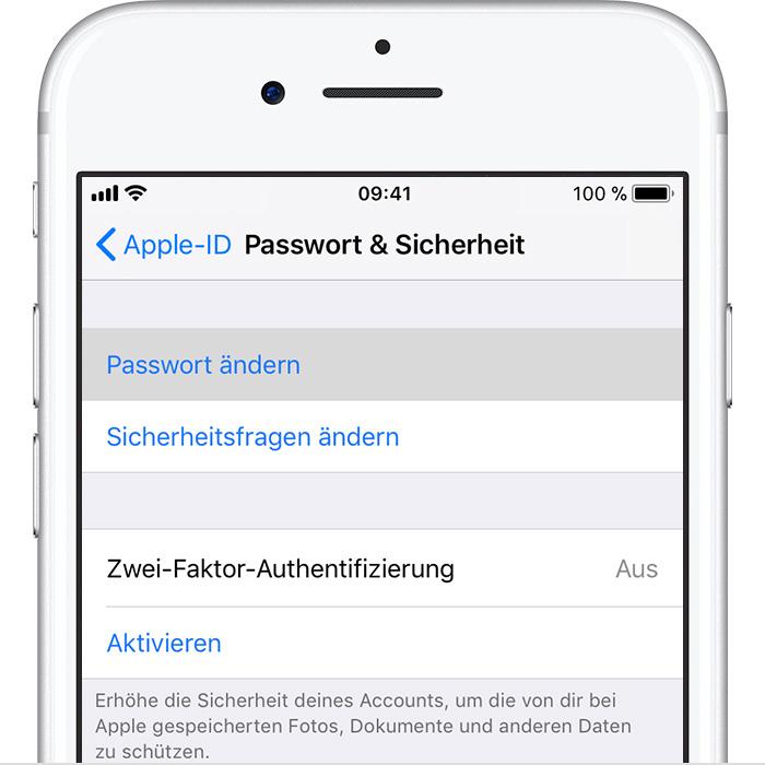 password ändern