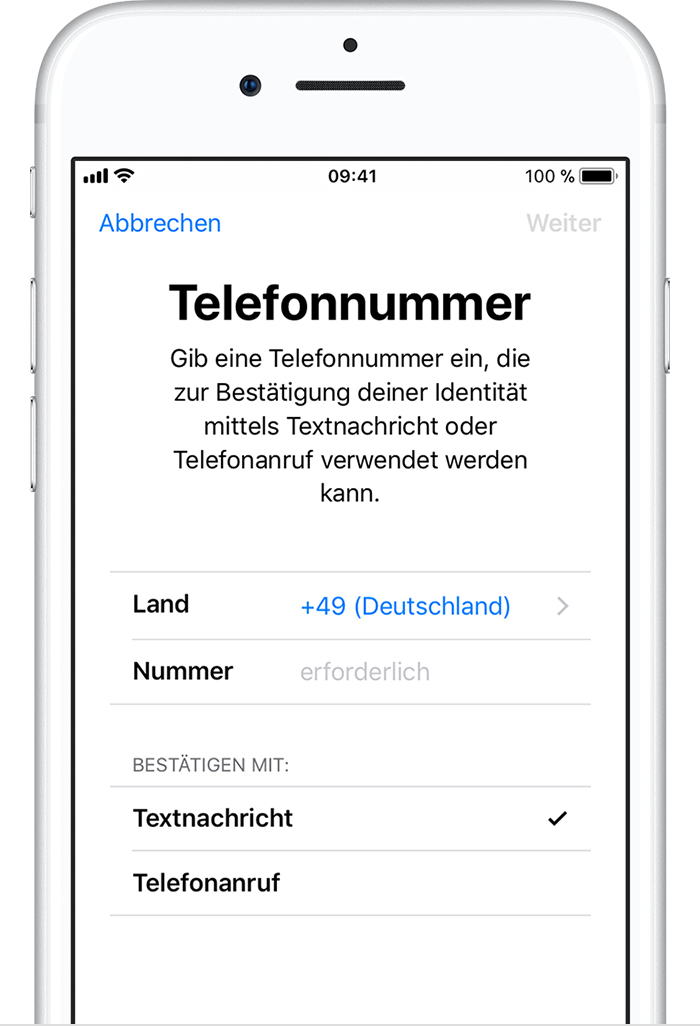 multiple apple ids on iphone zwei faktor authentifizierung f 252 r die apple id apple support 17821