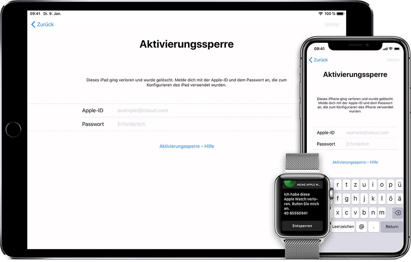 Teil 1: So umgeht man die iCloud-Aktivierungssperre auf dem iPhone 8 (schnelle Lösung)