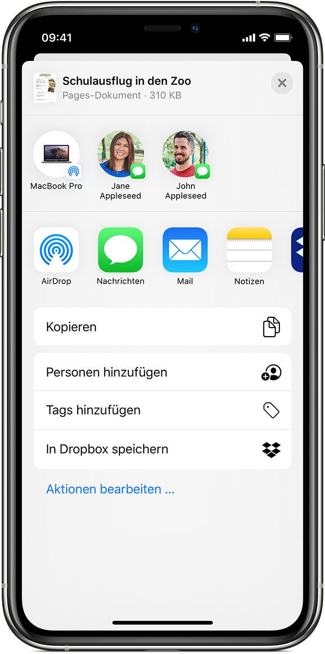 Dateien App auf dem iPhone, iPad und iPod touch verwenden   Apple ...
