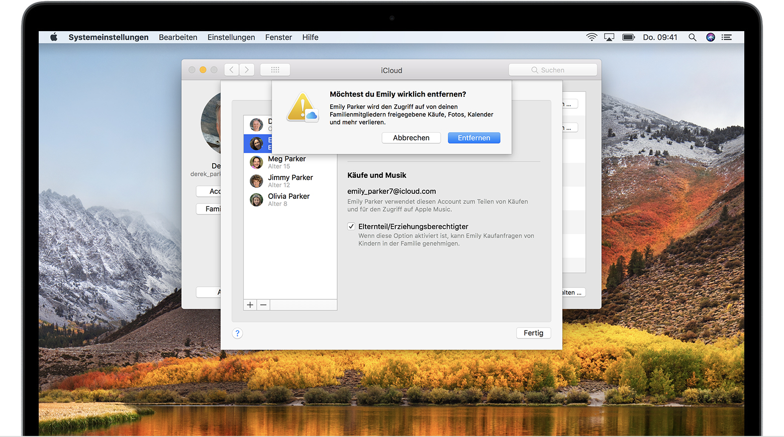 how to change macbook name high sierra