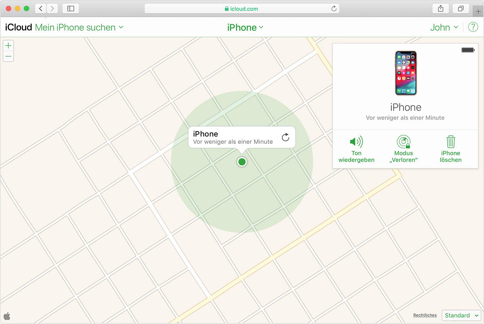 mein iphone suchen mac installieren