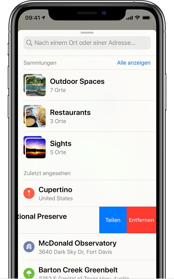 Iphone Karten Suche Löschen