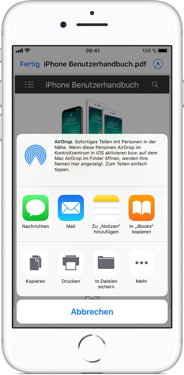 PDF-Dokumente mit iBooks auf dem iPhone, iPad oder iPod touch ...