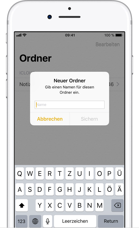 Notizen auf dem iPhone, iPad und iPod touch verwenden - Apple Support