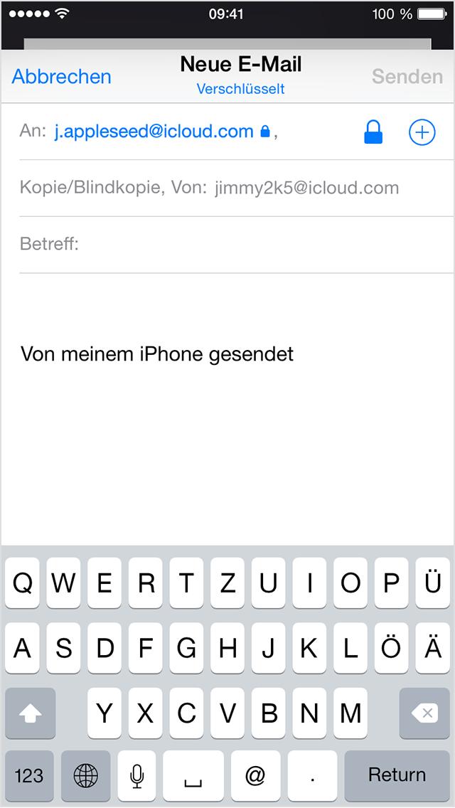 Verwendung von S/MIME zum Versenden verschlüsselter E-Mails in einer ...
